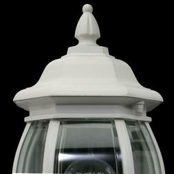Hampton Bay 1-Light White Outdoor Wall Lantern HB7027-06