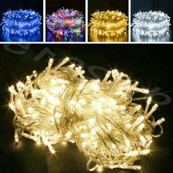 100/200/300/500 LED Fairy String Lights Home Outdoor Party W