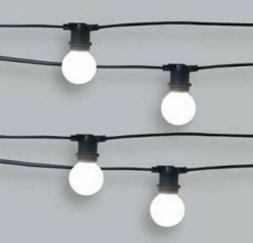 10ct Premium Heavy Duty Drop LED Outdoor String Lights Frost