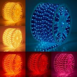 150 ft Rope Light Spool Indoor Outdoor Holiday Home Party Xm