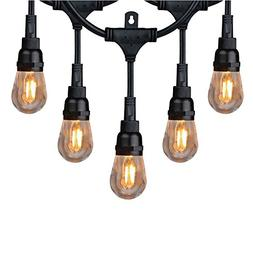 Honeywell 36 ft 18 Bulbs Commercial Grade LED Indoor Cafe Ou