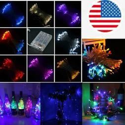 2/10M Festival Decorative Fairy LED Lamp Outdoor Colorful St