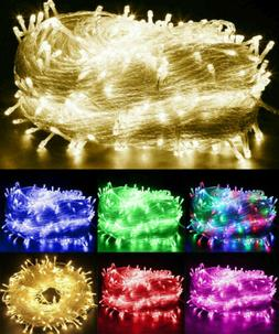 200 LED Fairy String Lights Waterproof Outdoor Christmas Tre