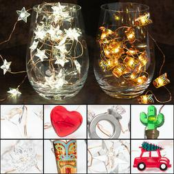25 LED Battery Operated String Lights Party Supplies Indoor