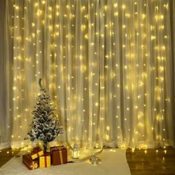 300Led String Fairy Lights Indoor Outdoor Yard Curtain Party
