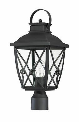 """Designers Fountain 34836 Ethan 3 Light 18"""" Tall Outdoor Sing"""