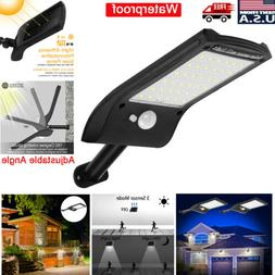 36 LED Solar Lights PIR Motion Sensor Waterproof Outdoor Gar