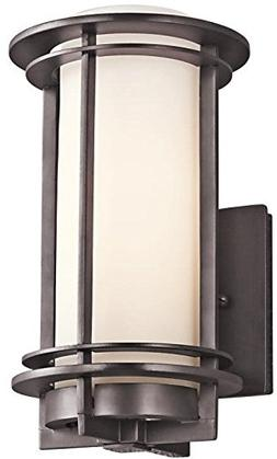Kichler 49344AZ Outdoor Wall Lantern 1Lt in Architectural Br