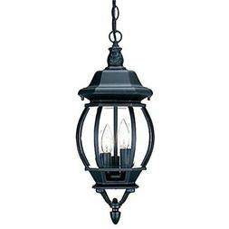 Acclaim 5160BK Chateau Collection 3-Light Outdoor Light Fixt
