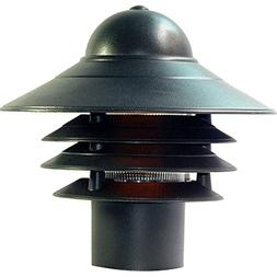 Acclaim 87BK Mariner Collection 1-Light Post Mount Outdoor L