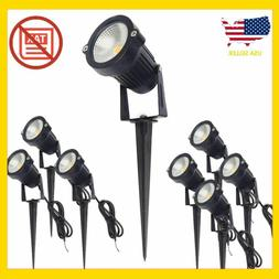 ALEDECO Outdoor Led Landscape Lights 12V 5W Low Voltage Wate