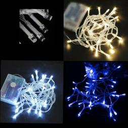 Battery Operated LED String Fairy Lights 30/50/80 for Indoor