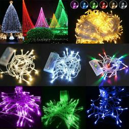 Battery Operated LED String Lights Halloween Christmas Party