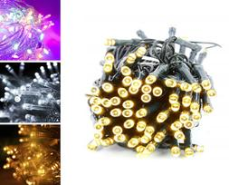 BATTERY OPERATED LED X MAS FAIRY LIGHTS WITH TIMER FOR INDOO