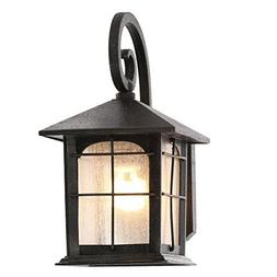 Home Decorators Collection Brimfield 1-Light Aged Iron Outdo