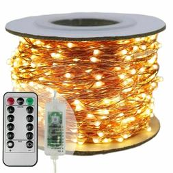 Christmas LED String Lights Outdoor Garland New Year Party W