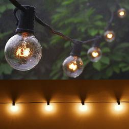 G40 Edison Tungsten Globe String Lights Bulbs Outdoor Waterp