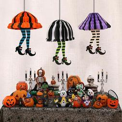 Halloween Paper Hanging Witch Lights Lantern Lamp Outdoor Pa