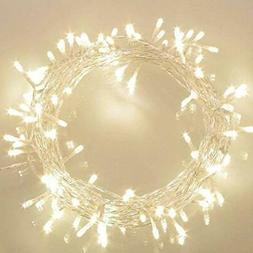 Koopower 36ft 100 LED Battery Operated String Lights With Ti