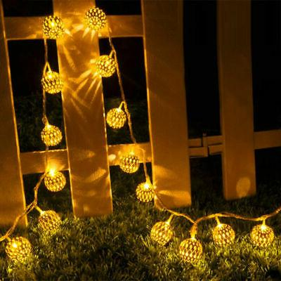 10/20 String Light Christmas Party Fairy Lights