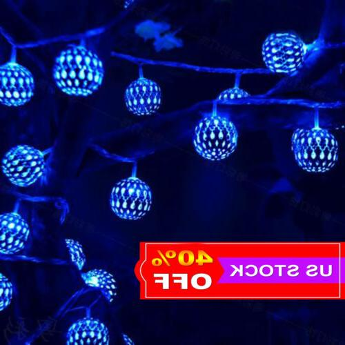 10 20 leds string light christmas party