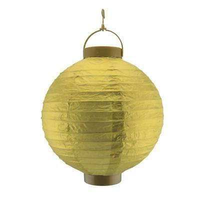 10 gold 16 led round battery operated