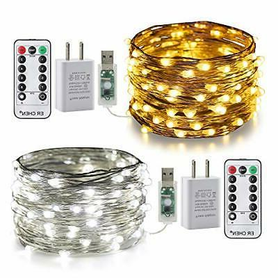 2 pack color changing fairy lights 2