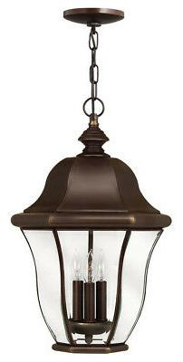Hinkley Lighting 2332CB Monticello Outdoor Hanging Light, Co