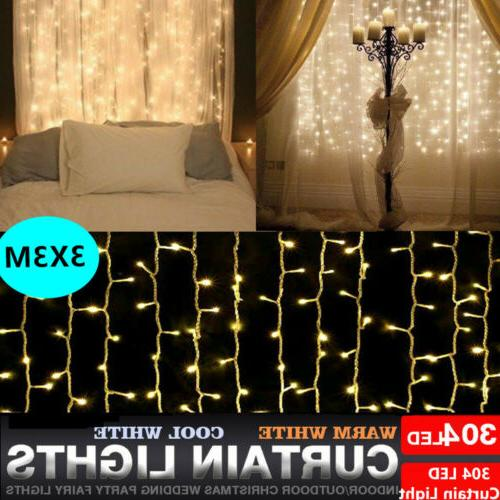 304led indoor outdoor christmas string fairy wedding
