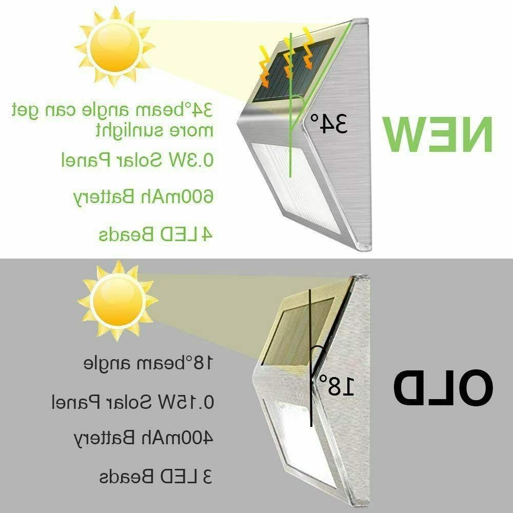 4 LED Step for Outdoor Garden Walkway Stair