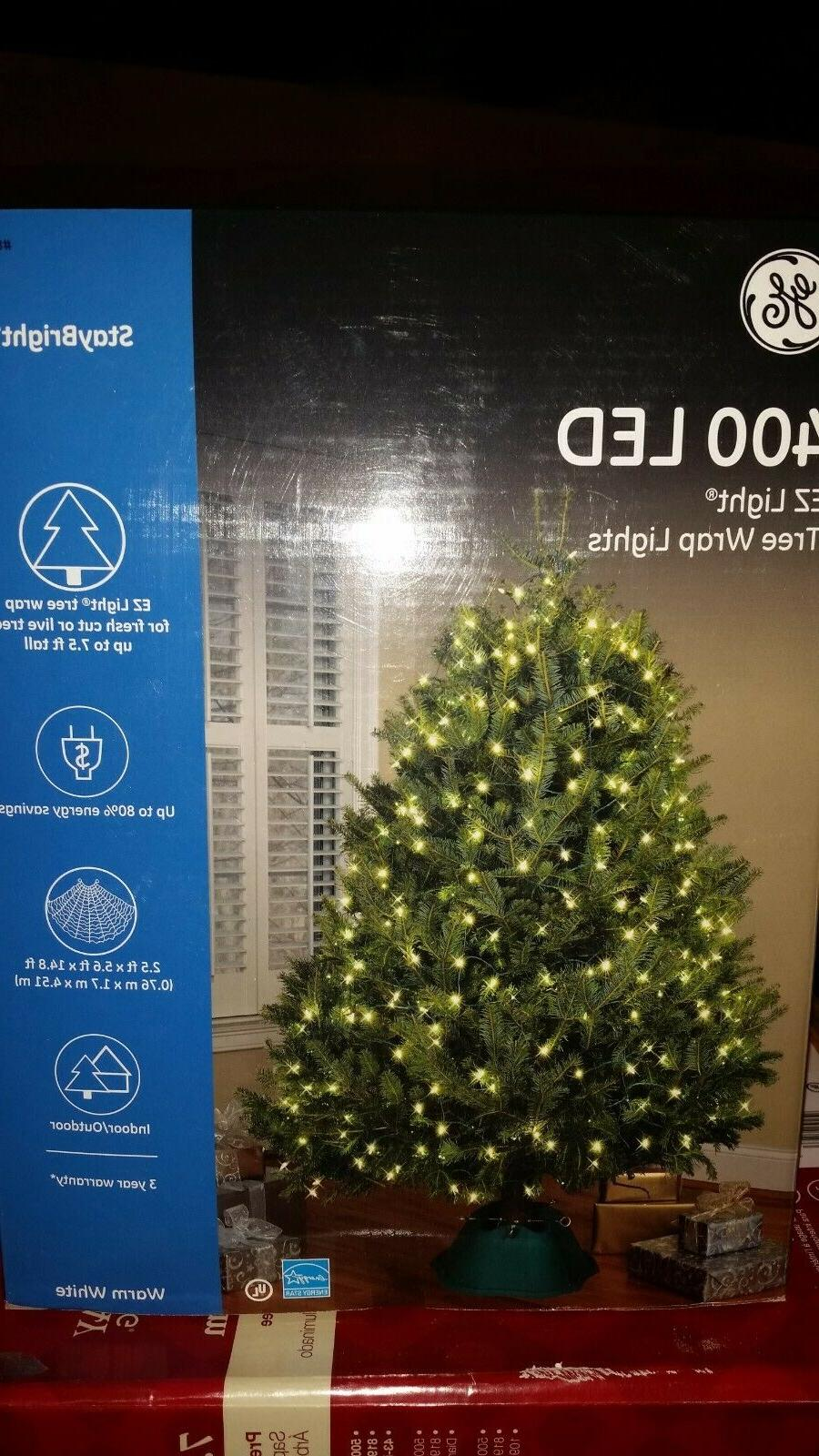 GE LED Tree White StayBright