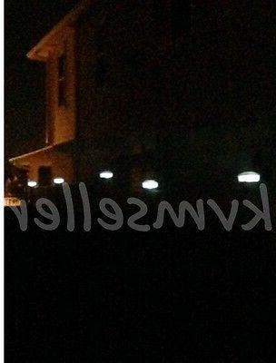 18 Lights Square Fence Outdoor Garden Fence