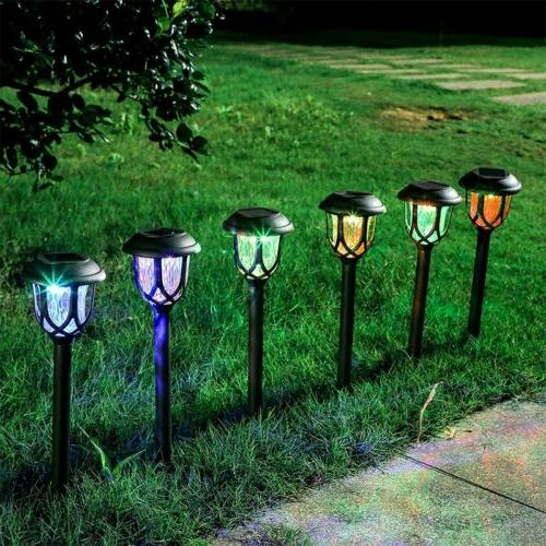 8 Pack Outdoor Solar Lights Lawn
