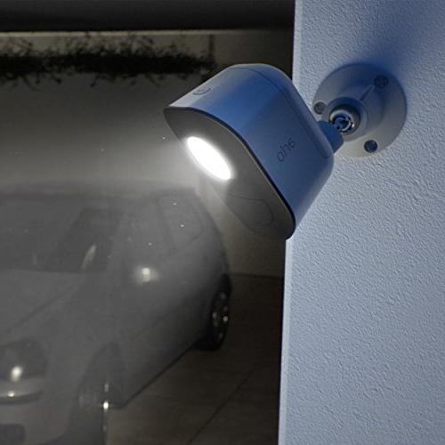 Arlo - Smart Home Security Light Weather Indoor/Outdoor, Multi-colored LED  2 Light Kit camera included