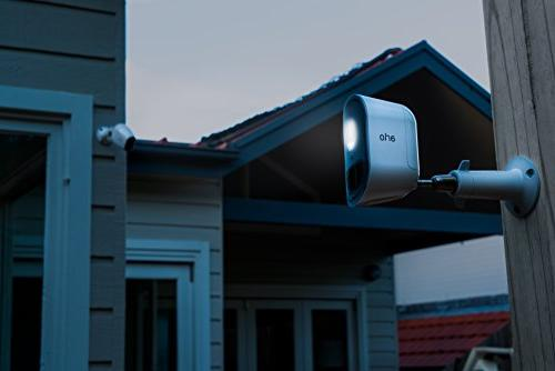 Arlo - Home Weather Resistant, Sensor, Indoor/Outdoor, Multi-colored Light camera included