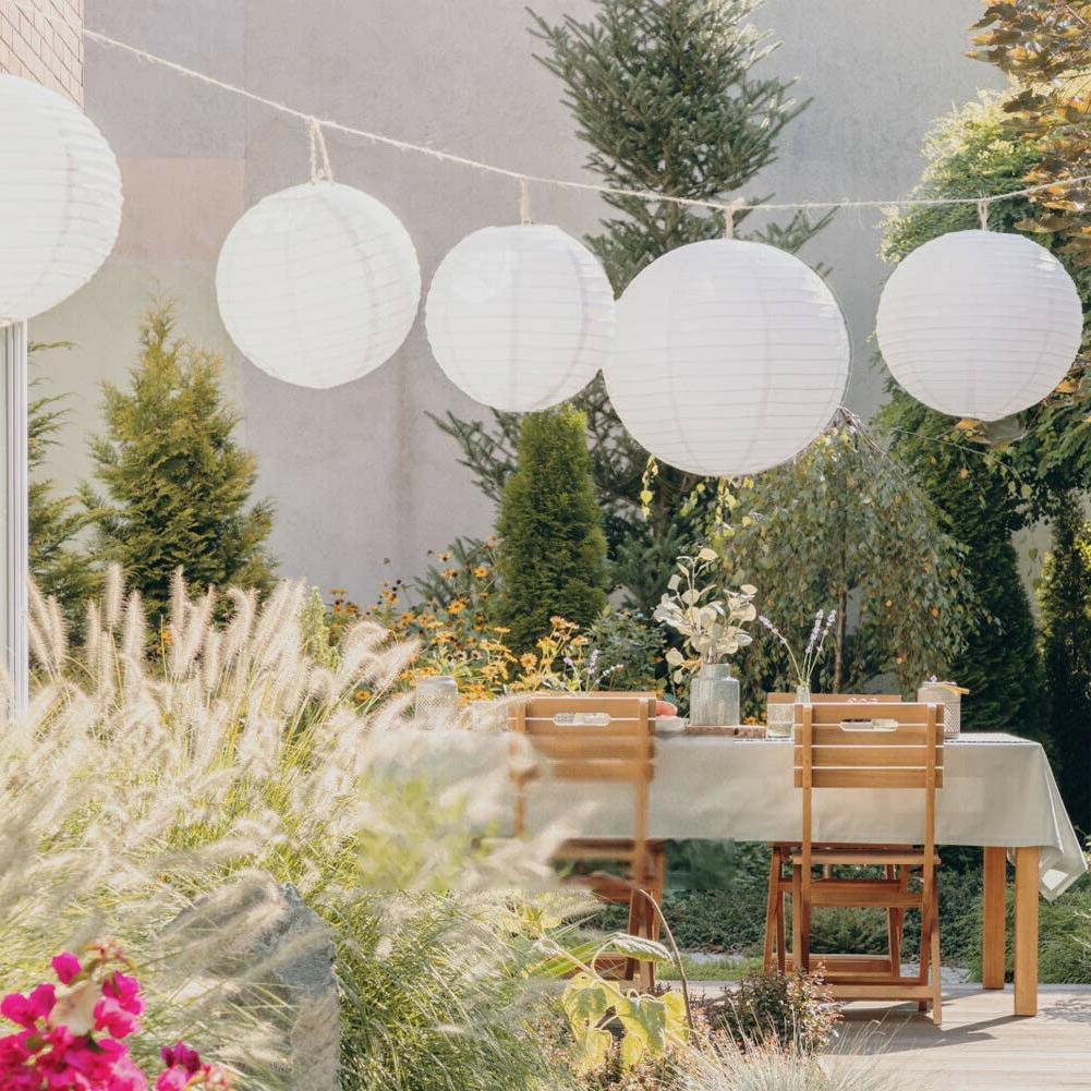 Chinese Paper Lanterns Lights Party Lamp