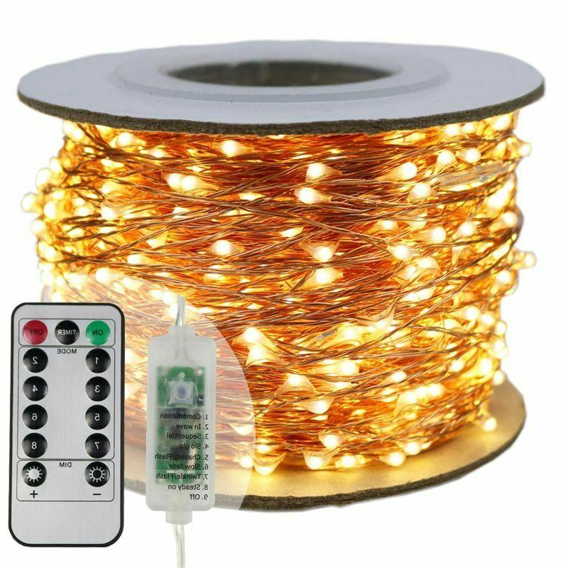 christmas led string lights outdoor garland new