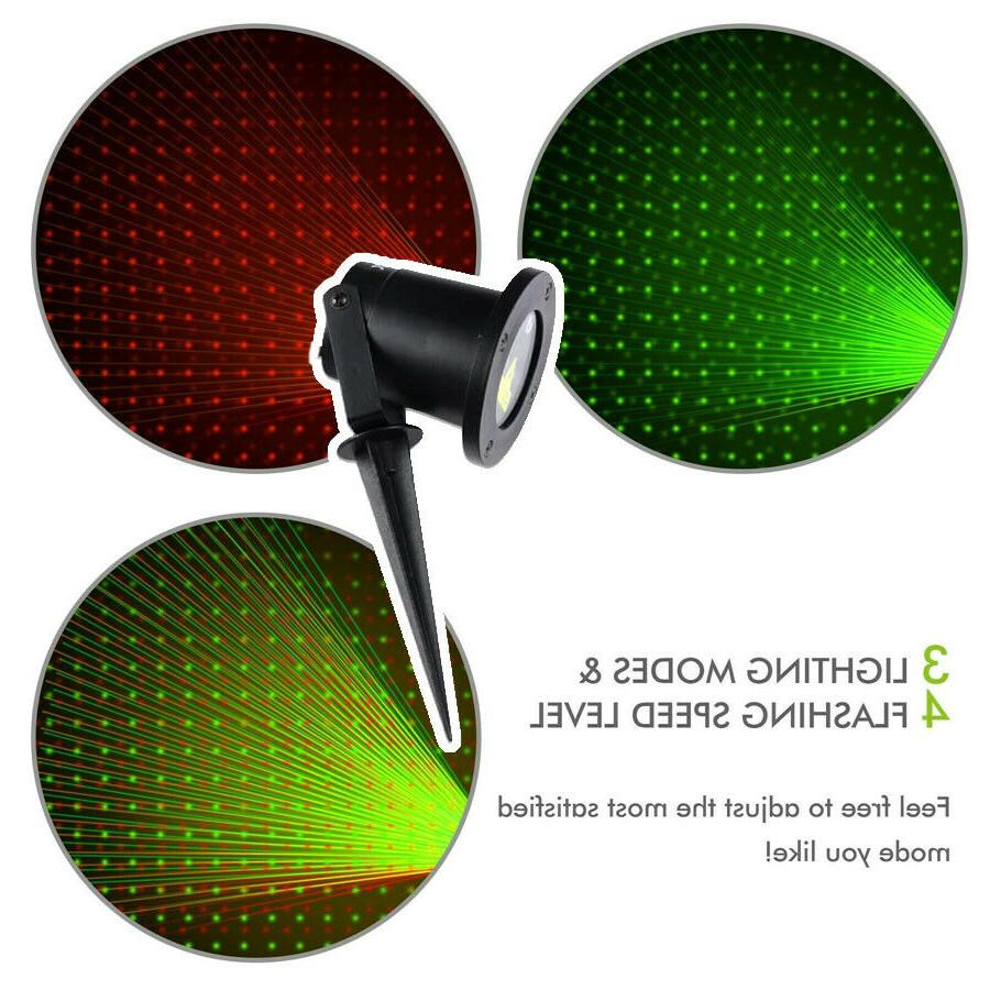 Christmas Lights Laser Projector Outdoor
