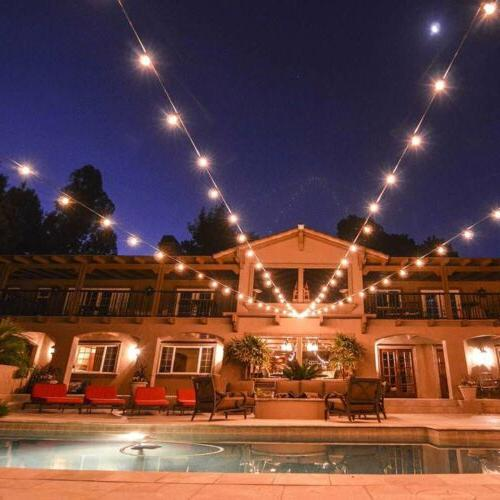 48ft Outdoor Waterproof Commercial Fairy Light Bulbs