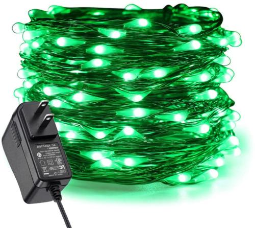 fairy lights plug in 200 led starry