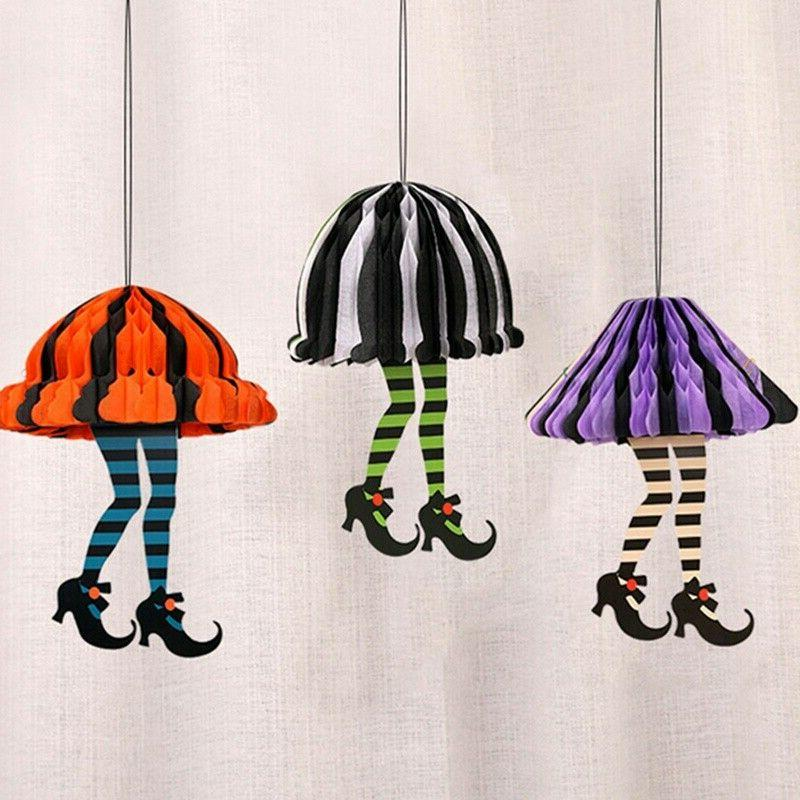 Halloween Paper Hanging Lights Party