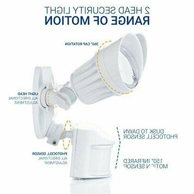 Hyperikon LED Outdoor Security with Motion