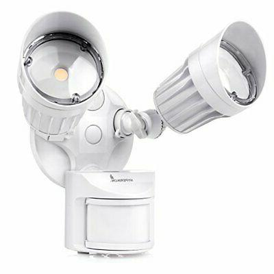 led outdoor flood security light with motion