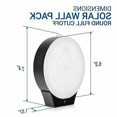 Hyperikon LED Outdoor, Round Off, Wall Pack Sconc...