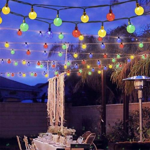 LED String Lights Outdoor Wedding Party Decor