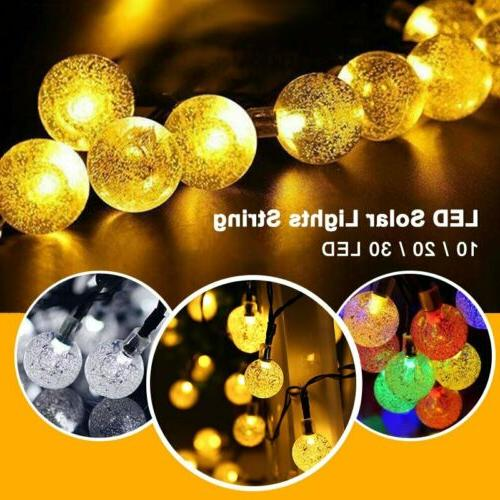 LED String Lights Outdoor Wedding Party Xmas