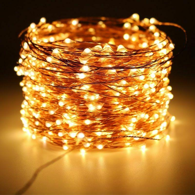 Christmas LED String Outdoor Garland New Year Wedding Lights