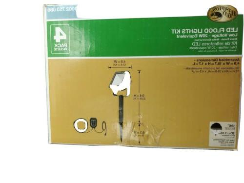 Low LED kit. 4 lights Cable