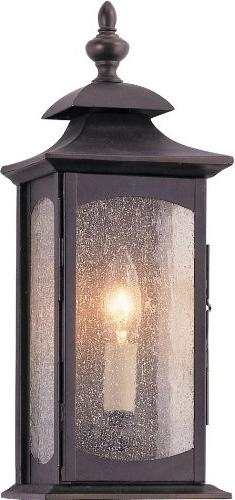 Murray Feiss OL2600ORB, Market Square Outdoor Wall Pocket Sc