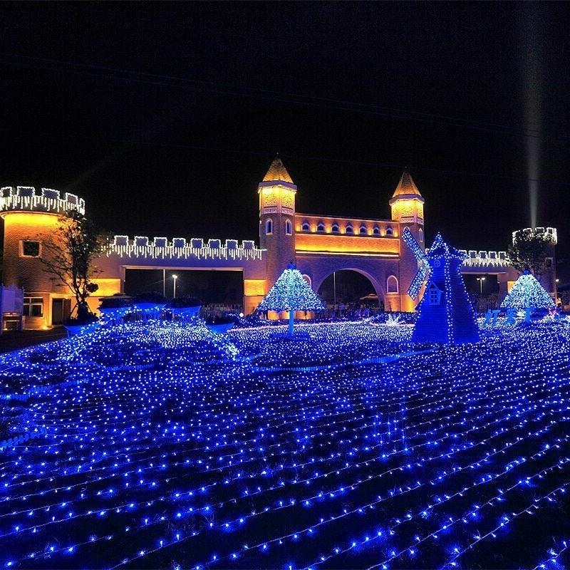 Outdoor Christmas led string 100M 10M 5M Decoration Holiday